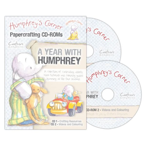 Humphrey's Corner Crafting Collection - A Year with Humphrey CD-ROM