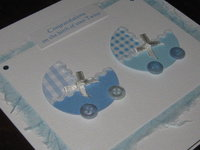 Handmade New Twins or Triplets Cards