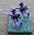 Union Infantry in Hardee hat Charging