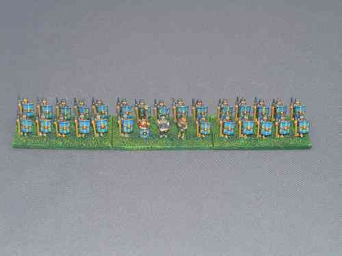 10mm Roman Legionary at Attention