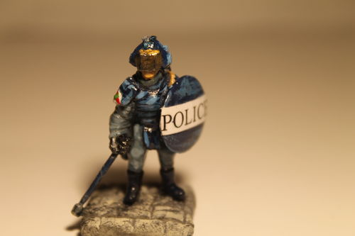 Patrolman w/Riot Shield