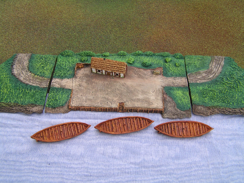 6mm scale resin Saxon port