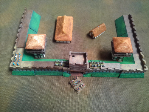 10mm Sub Roman Fort Pack