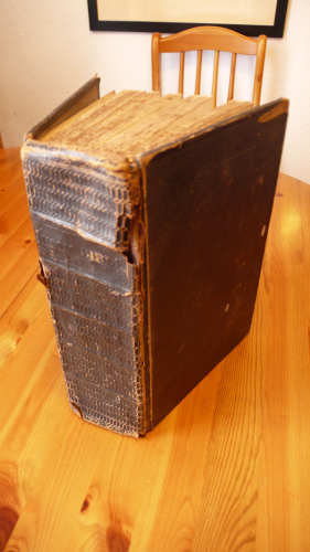 Silver, Cole, Kerr and Freeman family bible