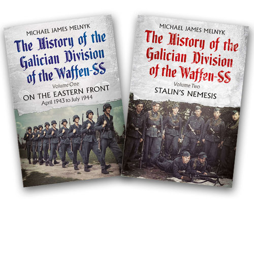 The History of the Galician Division of the Waffen SS Volume 1 and 2 (bundle)