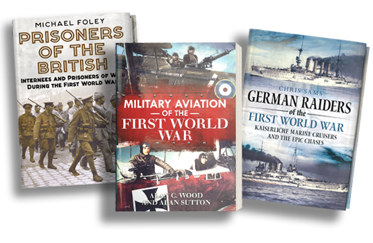 New Books on the First World War from Fonthill Media
