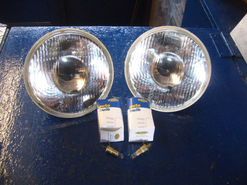 Escort Mk1, Mk2 Halogen headlights
