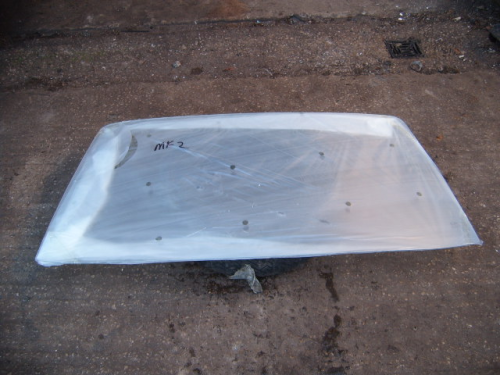 Escort Mk2 clear laminated windscreen