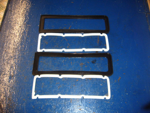 Escort Mk1 rear light seals