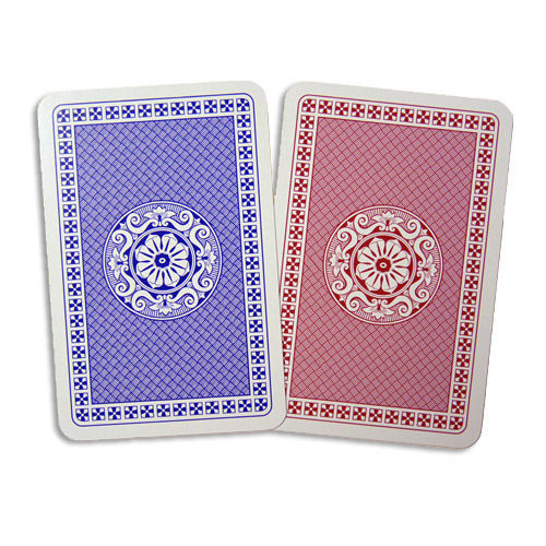 Bar-Coded Duplimate Playing Cards