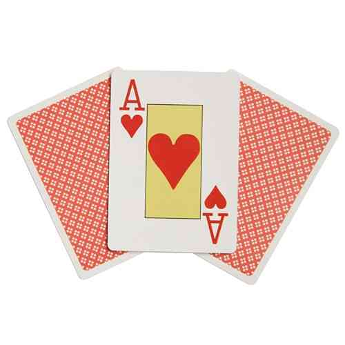 POKER Playing Cards - Larger Size