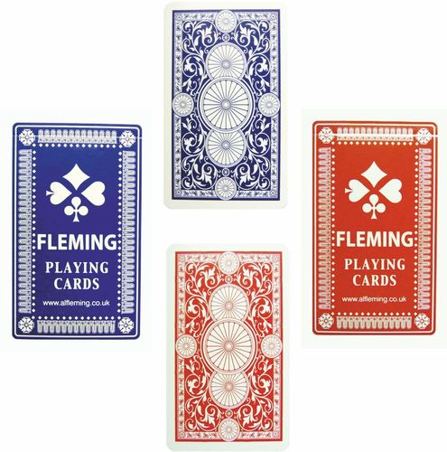 Linen Finish Playing Cards. Cellophane. SIX PACKS