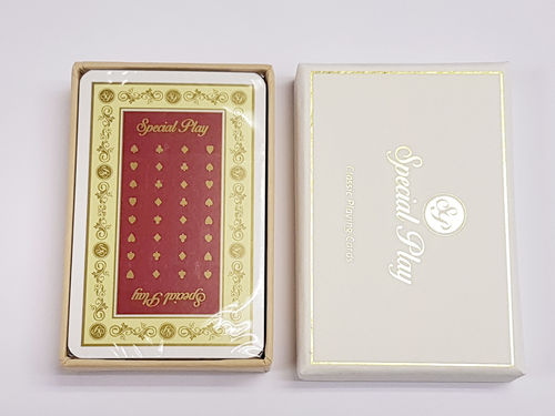 """Special Play"" Playing Cards - Red"
