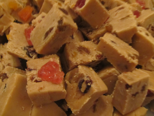 Fruit & Spice Fudge
