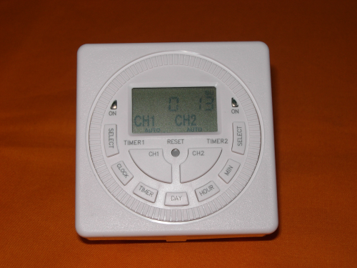 TWIN CHANNEL – DIGITAL TIMER MODULE