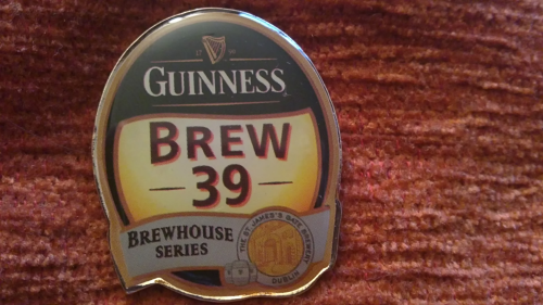 Guinness Pin, Brew 39
