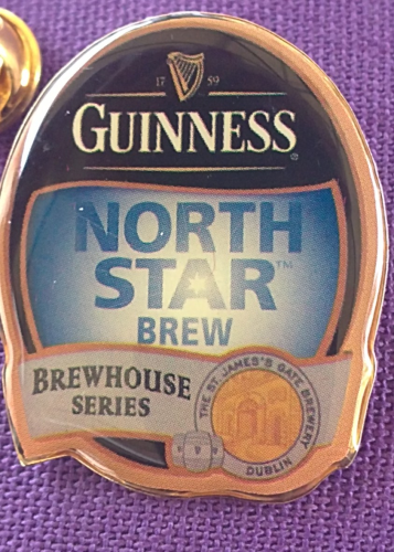 Guinness Pin, NORTH STAR BREW