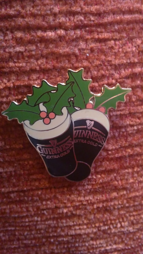 Guinness Pin, Christmas EDITION