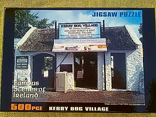 Ireland Puzzle, Kerry Bog Village