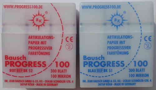 Artikulationspapier Bausch PROGRESS 100