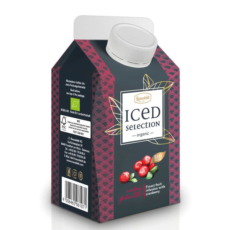 Iced Selection Cranberry Bio