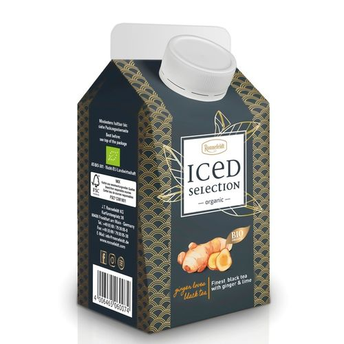Iced Selection Black Ginger&Lime Bio