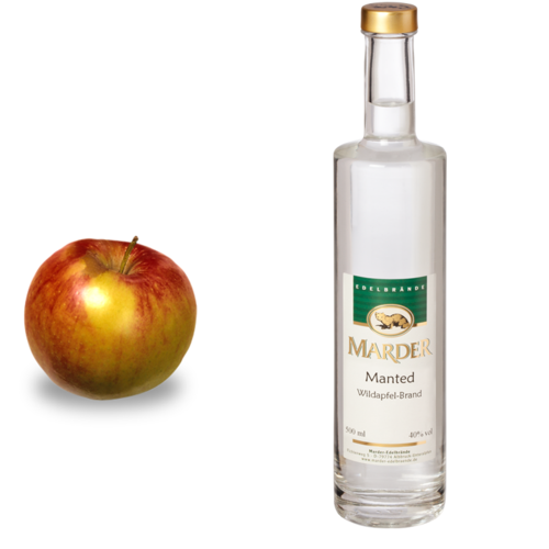 Manted Apfelbrand (Wildapfel)