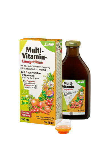 SALUS MULTIVITAMIN ENERGETIKUM BIO 500ml