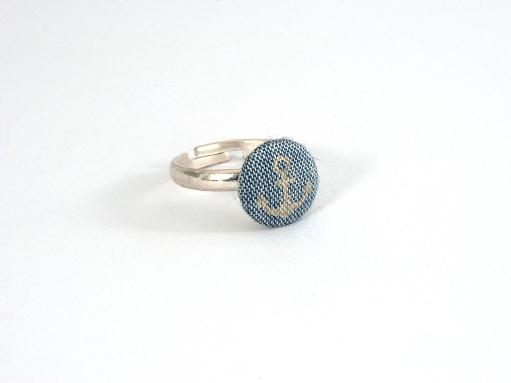 "Ring ""Anker Jeans"" - klein"