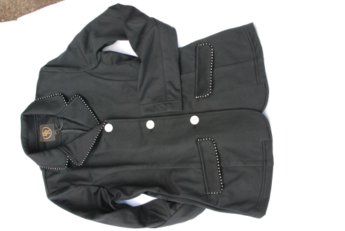 BR Jacket New York child black Strass