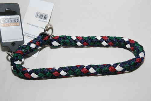 Equest Hundehalsband mit Zugstopp nver multi 50cm