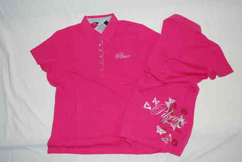 Pikeur Polo Shirt Dolly pink