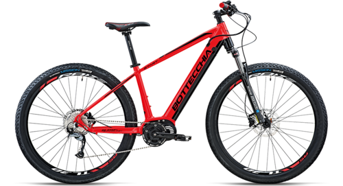 "Bottecchia BE32 Start EVO E-MTB 29"" 500 red flouo 40cm"