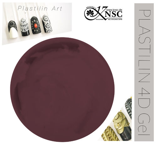 Plastilin 4d Gel Bordeaux (5g.)
