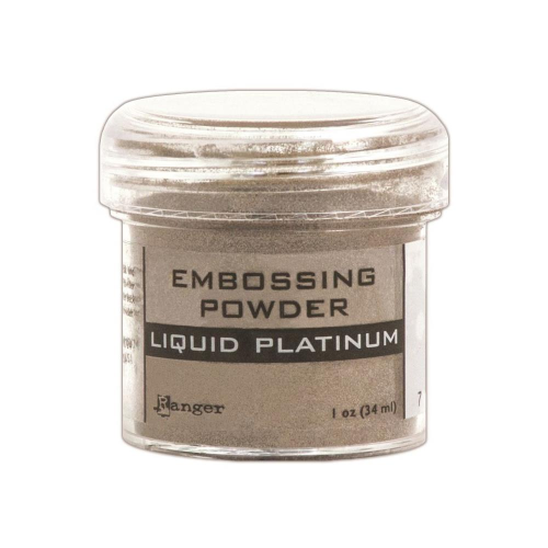 Embossingpulver Liquid Platinum