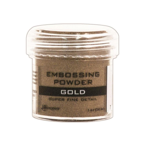 Embossingpulver Super Fine Gold