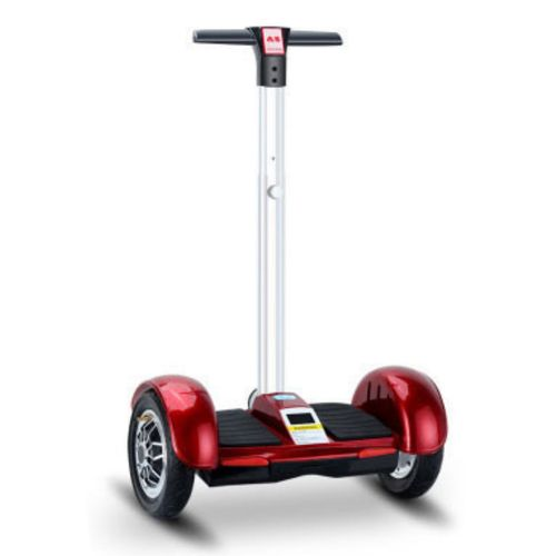 "Patinete Electrico Hoverboard 10"" 36V 4.4Ah _ Rojo"