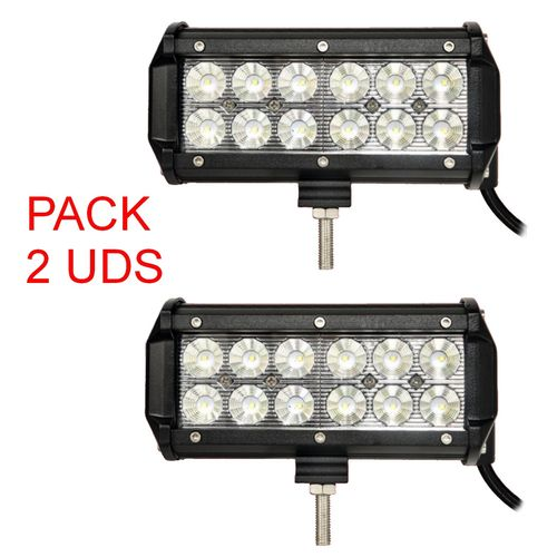 Barra LED 36W 12V-24V IP67 - Pack 2 UDS