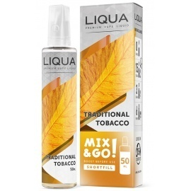 LIQUA MIX & GO TRADITIONAL TOBACCO - 50 ml