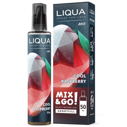 LIQUA MIX & GO COOL RASPBERRY - 50 ml