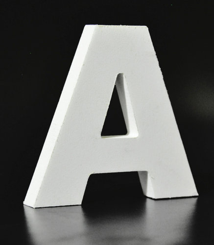 Letras Decorativas Rectas PVC | A