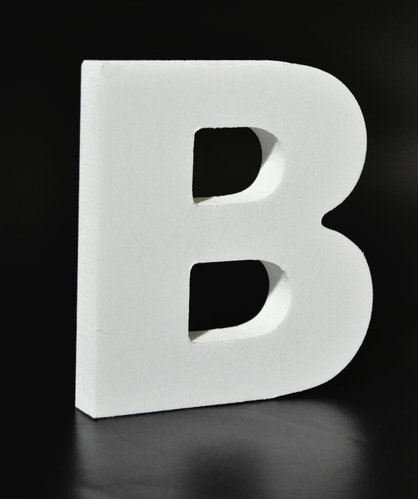 Letras Decorativas Rectas PVC | B