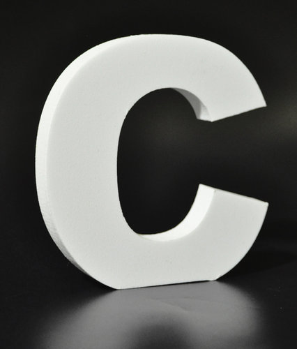 Letras Decorativas Rectas PVC | C