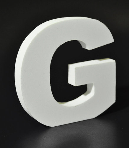 Letras Decorativas Rectas PVC | G
