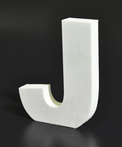 Letras Decorativas Rectas PVC | J
