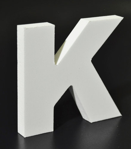 Letras Decorativas Rectas PVC | K