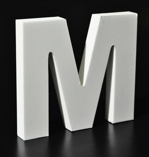 Letras Decorativas Rectas PVC | M