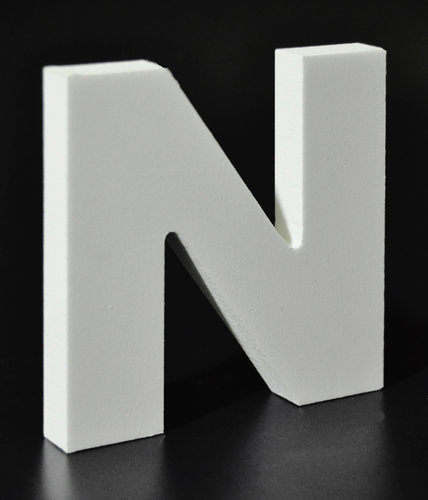Letras Decorativas Rectas PVC | N