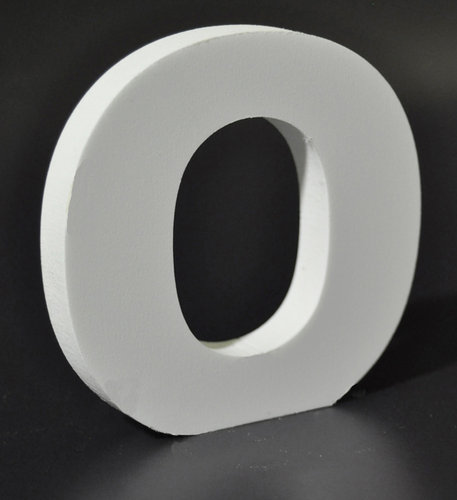 Letras Decorativas Rectas PVC | O