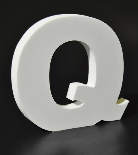 Letras Decorativas Rectas PVC | Q